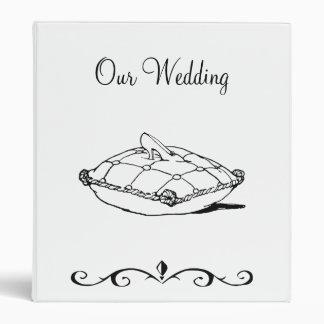 Carpeta del boda del deslizador de Cenicienta