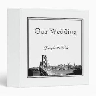 Carpeta del boda del destino de San Francisco