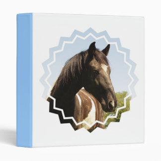 Carpeta del caballo de proyecto del condado