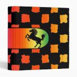 Carpeta del caballo del inspector del arco iris