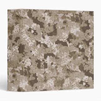 Carpeta del camuflaje del desierto
