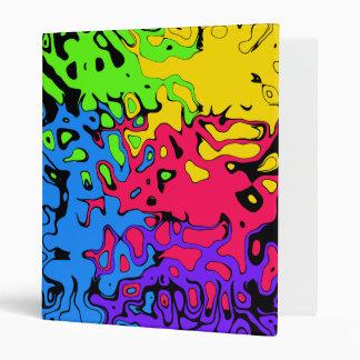 Carpeta del chapoteo del color
