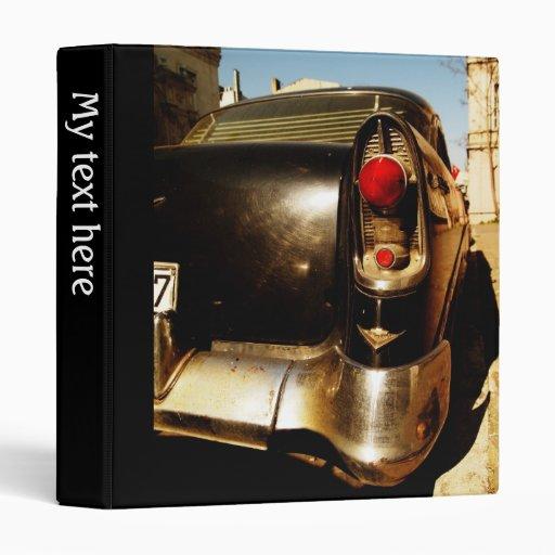 Carpeta del coche del vintage