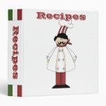 Carpeta del cocinero de la cocina de los álbumes d