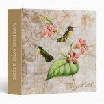Carpeta del colibrí de la costa