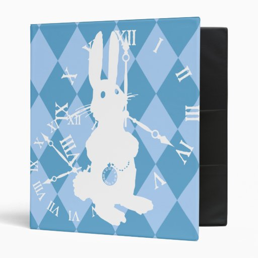 Carpeta del conejo blanco de Alicia última