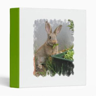 Carpeta del conejo de conejo de rabo blanco