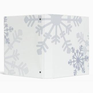Carpeta del copo de nieve 1inch