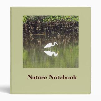 Carpeta del cuaderno de la naturaleza