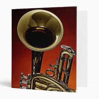 Carpeta del cuaderno de la trompeta