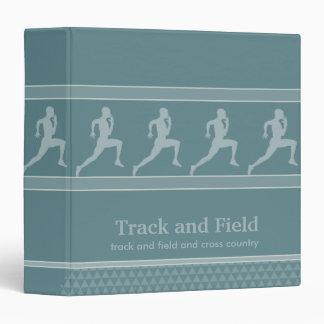 Carpeta del deporte del atletismo