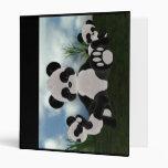 Carpeta del día soleado de Bearz de la panda