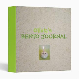 Carpeta del diario de Bento - personalizable