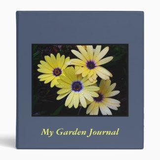 Carpeta del diario del jardín