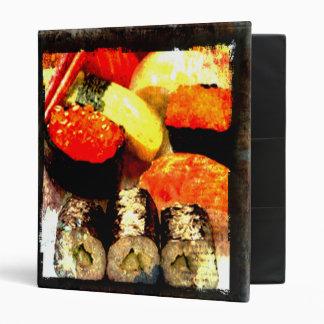 Carpeta del disco de la combinación del sushi del