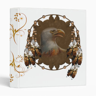Carpeta del diseño de Eagle del nativo americano