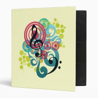 Carpeta del diseño de la música