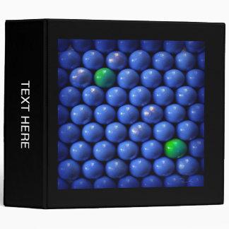 Carpeta del diseño de las bolas de la simetría