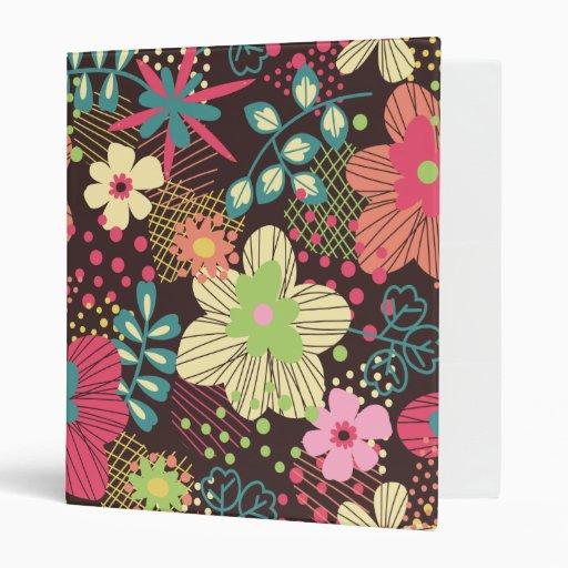 Carpeta del diseño floral de Elaina