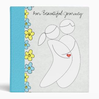 Carpeta del embarazo (azul)
