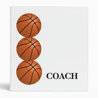 Carpeta del entrenador de béisbol