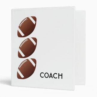 Carpeta del entrenador de fútbol