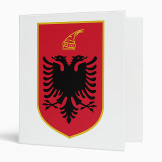 Carpeta del escudo de armas de Albania