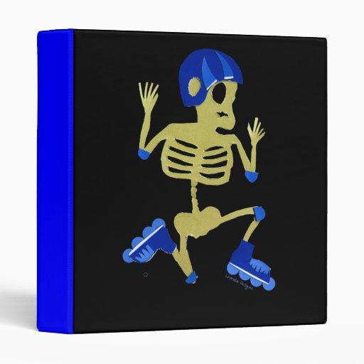 Carpeta del esqueleto de Rollerblading