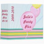 Carpeta del fiesta del globo