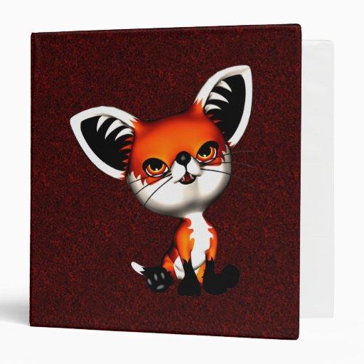 Carpeta del Fox de perro del bebé