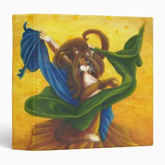 Carpeta del gato del baile gitano