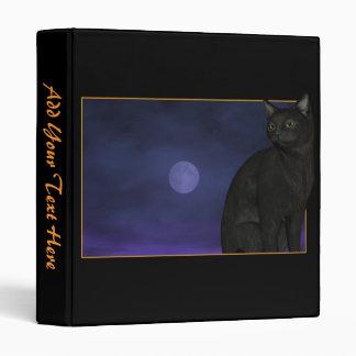 Carpeta del gato negro/de la Luna Llena con su
