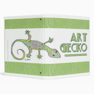 Carpeta del Gecko del arte