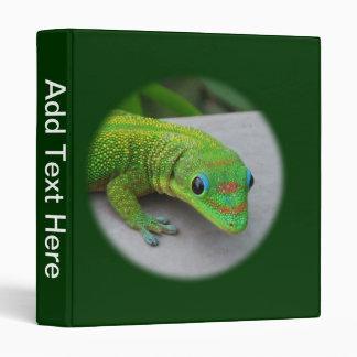 Carpeta del Gecko del día del polvo de oro