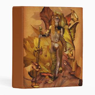Carpeta del guerrero del Amazonas mini Mini Carpeta