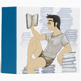 Carpeta del gusano de libro