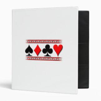 Carpeta del juego de la tarjeta