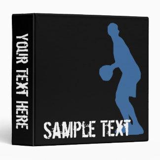 Carpeta del jugador de básquet