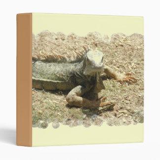 Carpeta del lagarto de la iguana