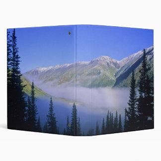 Carpeta del lago y de las montañas