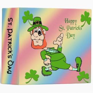 Carpeta del Leprechaun del día de St Patrick