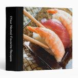 Carpeta del libro de cocina de la receta - comida