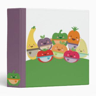 carpeta del libro de cocina de la receta de las le
