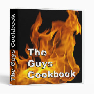 Carpeta del libro de cocina de los individuos