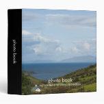 Carpeta del libro de la foto de la bahía de la