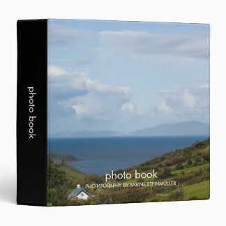 Carpeta del libro de la foto de la bahía de la cañ