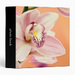 Carpeta del libro de la foto de la orquídea del Cy