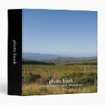 Carpeta del libro de la foto de la tierra