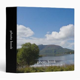 Carpeta del libro de la foto del lago Muckross