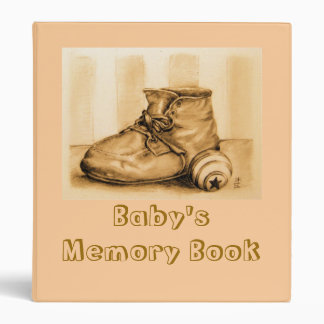 """Carpeta del libro de la memoria del bebé"" Carpeta 1"""